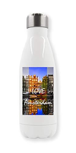 C+P Sunny I Love Amsterdam Beautiful Landscape thermo-waterfles