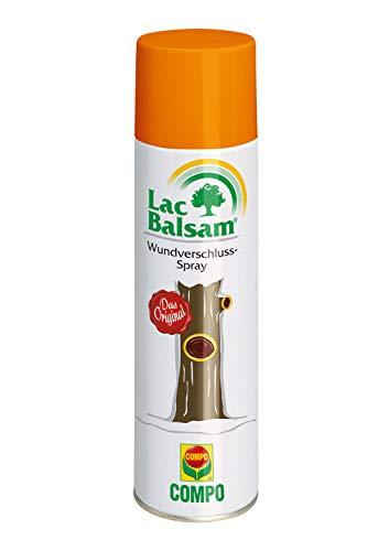 Compo Lac Balsam, Wundverschluss-Spray zur Behandlung an Zier- und Obstgehölzen, 300 ml