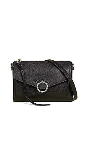 Rebecca Minkoff Women's Jean Mac Crossbody Bag, Black, One Size