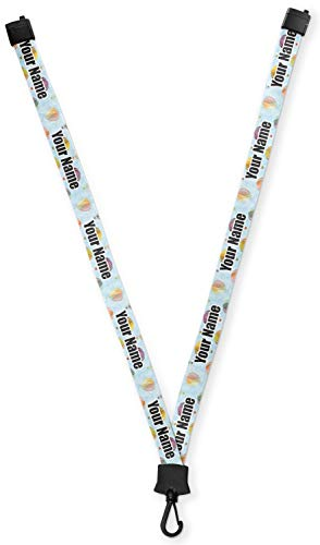 Watercolor Hot Air Balloons Lanyard (Personalized)