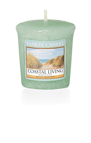 Yankee Candle Coastal Living Votive Candle, Wax, Green, 4.7 x 4.5 x 5 cm
