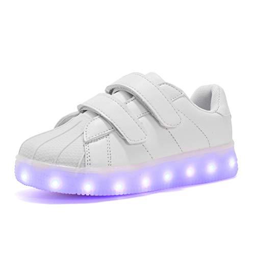 USB Aufladen LED Leuchtet Schuhe Low-top Sneakers Blinken Leuchtend für Kinder Jungen Mädchen