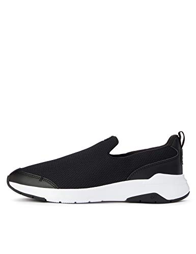 CARE OF by PUMA Slip on Runner Low-Top Sneakers, Nero (Black-Glacier Gray), 39 EU