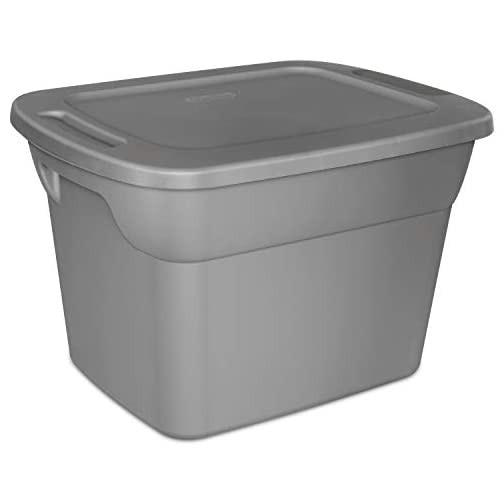 STERILITE, 18 Gal./68 L Tote Box, Case of 8 3