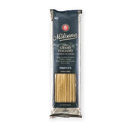 La Molisana Spaghetti Nr 15 Integrale Vollkorn Nudeln Pasta 500g 6er Pack