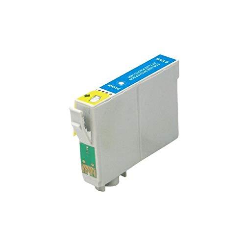RudyTwos - Cartucho de tinta para Epson Owl compatible con Stylus Photo 79, 1400, 1410, 1500W, P50, PX650, PX660, PX700W, PX710W, PX720WD, PX730WD, PX800, PX800FW, PX810FW, PX820FWD, PX830FWD