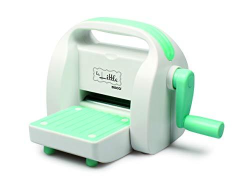 DECO 12111 La Little macchina per fustellare ed embossare adatta per carta, cartoncino e gomma crepla