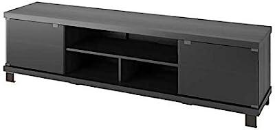 Sonax B-207-CHT Holland TV Stand, Ravenswood Black