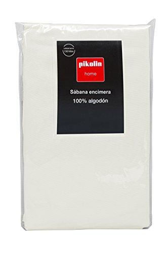 Pikolin Home - Lakan, 100 % bomull, 220 x 270 cm, säng 135/140, naturliga färger
