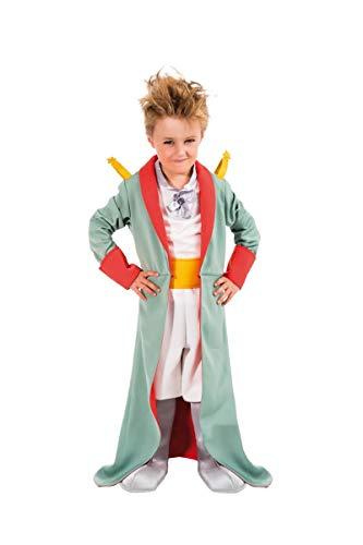 Costume travestimento Il Piccoloprincipe® Antoine de Saint-Exupéry per bambini (licenza ufficiale) -Taglia 5/10 anni (116 cm (5/6 anni))