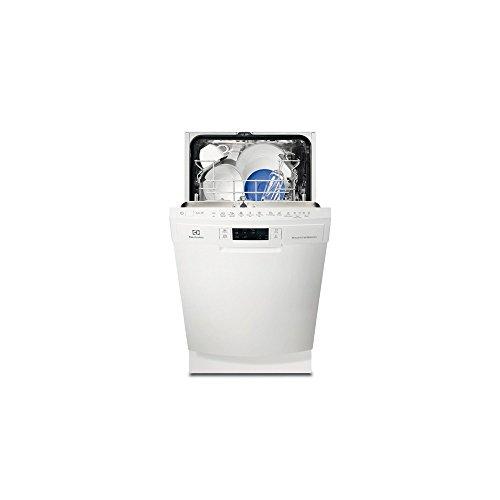 Lave vaisselle Electrolux ESF4661ROW - Lave vaisselle 45 cm - Classe A++ / 44 decibels - 9 couverts - Blanc bandeau : Blanc - Pose libre