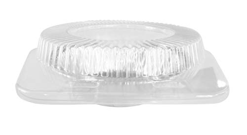 "5"" Disposable Clear Clam shell Display Container. For All 5"" tart and Pie pans #762 (500)"