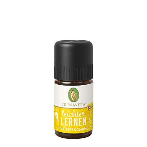 PRIMAVERA Kids Leichter Lernen Duftmischung 5 ml - Aromaöl, Duftöl, ätherisches Öl, Aromatherapie - konzentrationsfördernd, motivierend - vegan