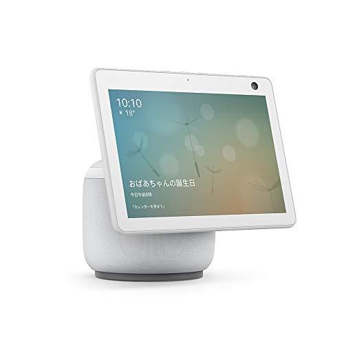 【新型】Echo Show 10 (エコーショー10) 第3世代 - モーション機能付きスマートディスプレイ with Alexa、...