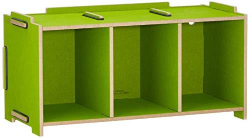 Medienbox CD (stapelbar), grasgrün von Werkhaus