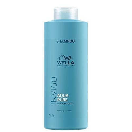 Wella INVIGO Balance Aqua Pure Shampoo Unisex No profesional Champú 1000 ml - Champues (Unisex, No profesional, Champú, 1000 ml, 1 pieza(s)) (8005610642529)