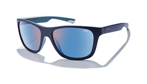 Zeal Optics Radium | Plant-Based Polarized Sunglasses for Men & Women - Atlantic Blue/Polarized Horizon Blue Lens