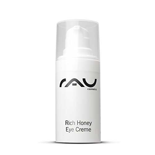 RAU Rich Honey Eye Cream 15 ml - Augencreme mit Shea Butter, Oliven- und Avocadoöl, Kakaobutter