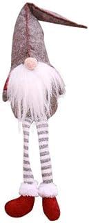 Pichidr-JP クリスマス 人形 クリスマス 足長トムテ 北欧の妖精トムテ サンタクロース ハンドメイド クリスマス飾り置物 クリスマスツリー ツリー 装飾 フェルト オーナメント サンタクロースペンダント人形 室内 インテリア