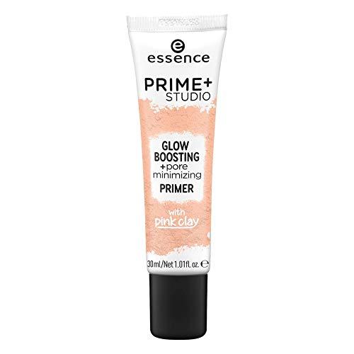 essence prime+ studio glow boosting + pore minimizing primer - 1er Pack