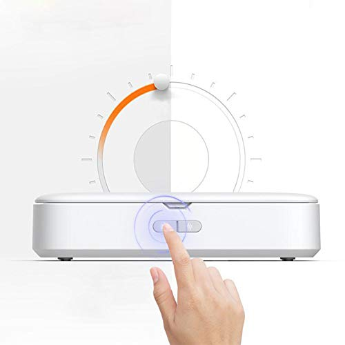 UV Phone Sanitizer Cleaner Case,UV Light Smart Phone Sterilisator Box,2 in 1 Desinfector Voor Reiniging En Aromatherapie,Tandenborstel Sieraden Horloges Bril Cleaner Case,99,9% Gereinigd in 5 Minuten
