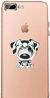 WAAH Finger Ring Bracket Cartoon Animal Husky Dog Bone Bracket Mobile Phone Ring Buckle Decoration Tablet Desktop Design B...