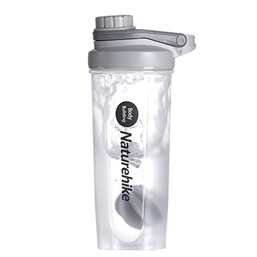 LMM Sports Shaker Cup, Fitness Cup Stirring Cup Milkshake Water Cup,700ml Protein Powder Portable Stirring Scale Kettle,For Men Women
