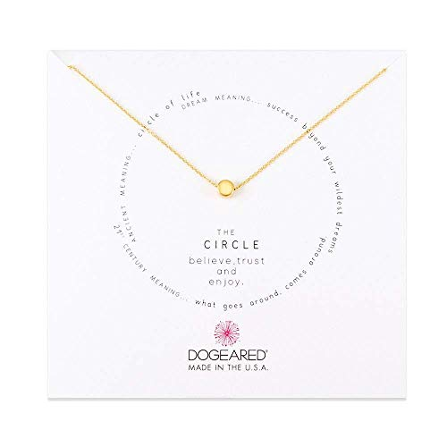 Dogeared Circle Necklace