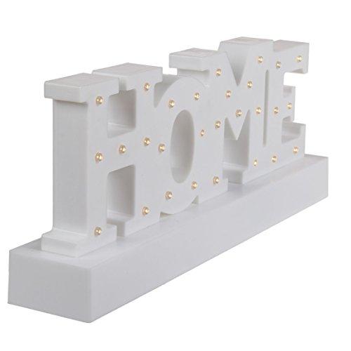 OOTB Home Letter Light, blanco