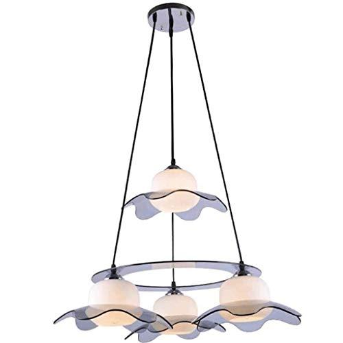 SPNEC Diseño Creativo de Europa y América Multi-dirigieron Delicado Luxury Light lámpara de Cristal, Exquisita Cubierta de Flores decoración de la lámpara