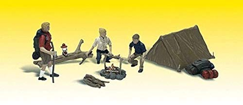 Spur 0 -- Camper mit Zelt und Feuerstelle