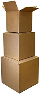 The Boxery 8x6x5'' Corrugated Shipping Boxes 100 Boxes