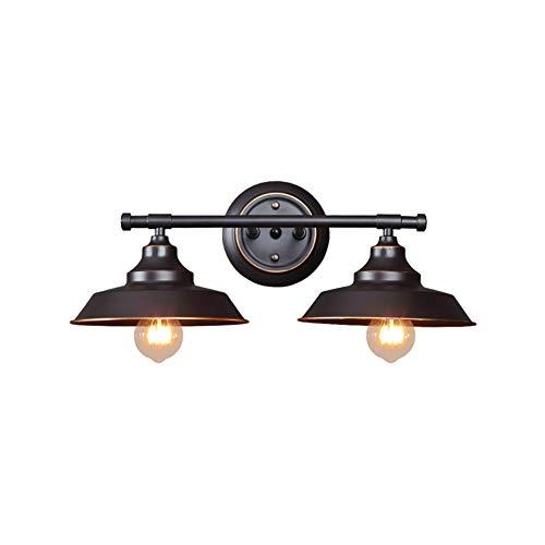 Ajuste Fácil Decorar Aplique Pared,Creativo Vintage Industrial E27 Lámpara De Pared,Corredor Salón Hotel Cafetería Bar Luz De Pared-Un 50x20cm(20x8inch)