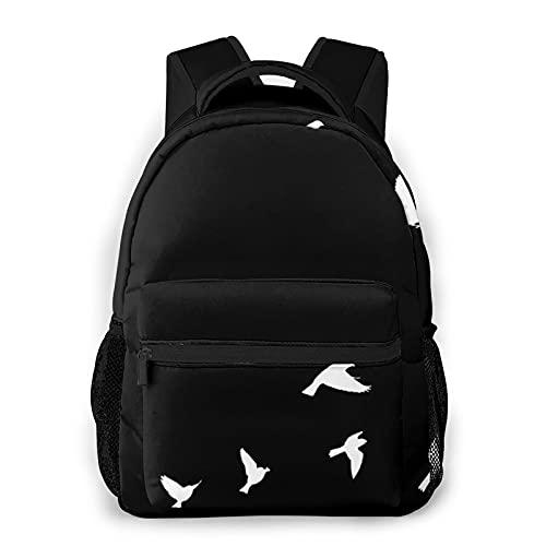Birds In Flight Mochila de viaje para hombres y mujeres, mochila de viaje ligera, adecuada para uso diario, trabajo y viajes