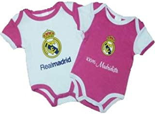 Pack 2 Body Real Madrid Niña: Amazon.es: Ropa y accesorios
