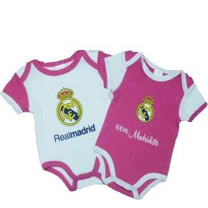 Producto Oficial Set 2 Body Real Madrid Ni/ños Primera y Tercera Temporada 2018//2019