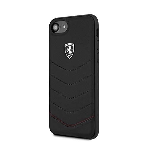 Ferrari FEHQUHCI8BK CG Mobile Handyhülle für Apple iPhone 8/7 schwarz