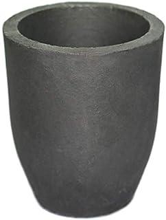ULTECHNOVO Coppa per Crogiolo in Ceramica Resistenza alle Alte Temperature 1 kg per Fusione Fusione Raffinazione Gioielli in Metallo Oro Argento Rame
