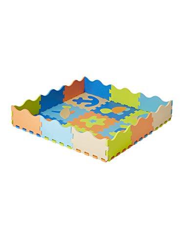 Vertbaudet VERTBAUDETTapis Puzzle géant en Mousse OcéanBleuTU