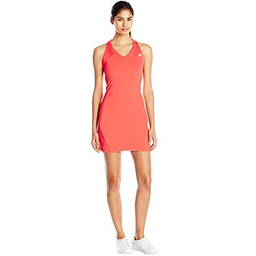 ASICS Abbigliamento Donna Samantha Stosur Athlete Dress, Unisex, Oberbekleidung Samantha Stosur Athlete Dress, Rosso, S