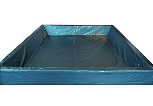 WABEZU Mesamoll2® Wasserbett Sicherheitswanne Softside Wasserbett, Auslaufschutz, Sicherheitsfolie (180 x 200 cm)