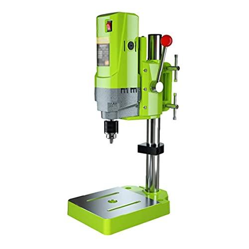 Taladro de soporte multifunción de sobremesa prensa de taladro 220V piso de perforación soporte de mesa de precisión de alta velocidad de perforación Collet, herramientas eléctricas