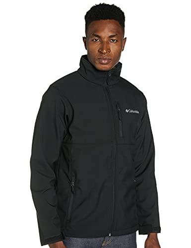 Columbia Men's Ascender Softshell Jacket, Black, Large
