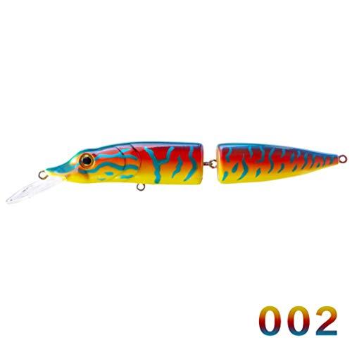 Donad Crochet de Vadrouille Swimbait VMC pour leurre de pêche en mer Dur pour Pike Musky 12cm / 16cm 15.5 / 36g
