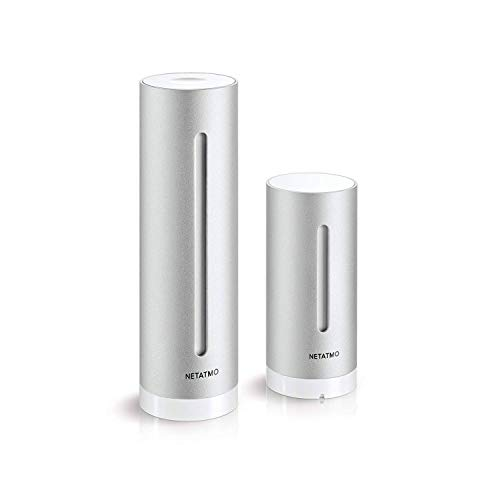 NETATMO(ネタトモ) ウェザーステーション USB付属・ACアダプター無し スマホ対応 温度・湿度・気圧・二酸化...