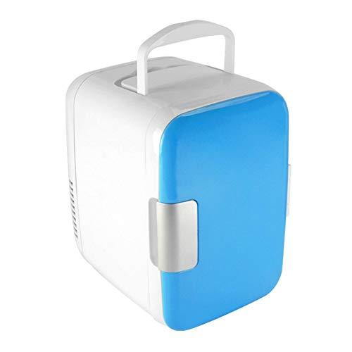 fosa1 Mini réfrigérateurs Voiture Réfrigérateur 4L 12V 220V Mini Frigo Réfrigérateur Réfrigérateur Multi-Fonction Voyage Réfrigérateur Portable Caféfecteur de Glace électrique Café-congélateur