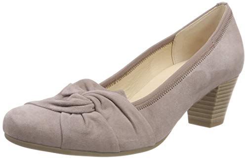 Gabor Shoes Damen Basic Pumps, Beige (Nude 14), 37 EU