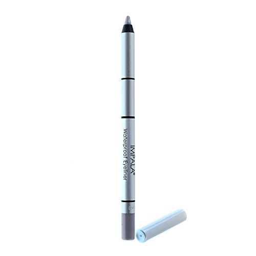 Impala–Bleistift-Augen Waterproof cremig Farbe Silber nº311Langlebig