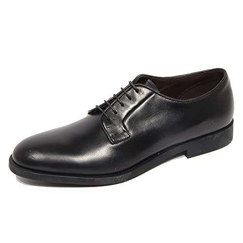 Fratelli Rossetti G3684 Scarpa Allacciata Uomo One Black Leather Shoes...