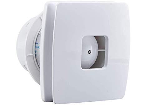 Ventilador de escape Cuarto de baño Cocina Dormitorio Dormitorio Aseo Bajo ruido Ventilador Fan Hotel Wall Silent Extractor Tubería Ensayo de escape para el ático de la casa, cobertizo o ventilación d